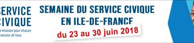 Semaines du Service civique en Île-de-France !