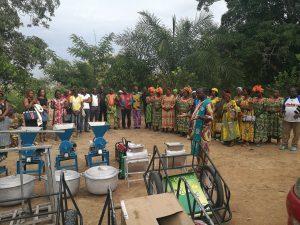Installation de l'unité de transformation à Batchenga: première phase