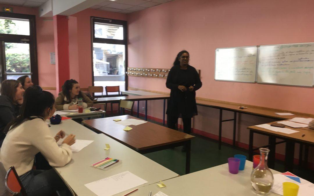 Ateliers de sensibilisation à l'AEPCR de Paris !