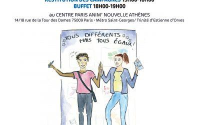 A VENIR: Le Forum Tous en Campagne Contre les Discriminations, le 5 juin 2019 !