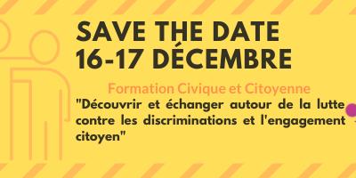 Participez à notre prochaine Formation Civique et Citoyenne !